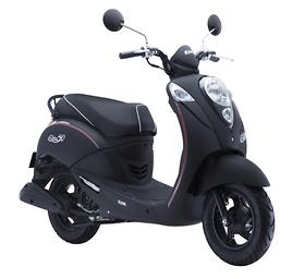 Xe máy Elite 50 ( Đen mờ)